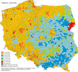 Regional Differences in Poland - Gotowe Spółki - Poland Elections 2011