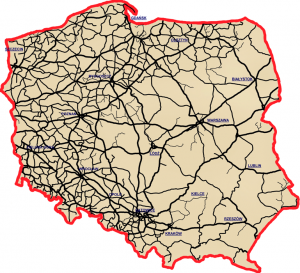 Regional Differences in Poland - Railroad
